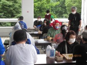 ブラインド囲碁将棋イベントの様子